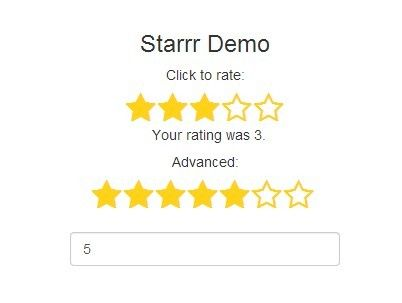 Rating Stars with simple jQuery
