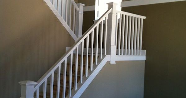 Square White Stair Balusters Google Search Home