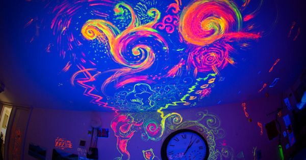 Click For More Neon Painting Black Light Room Neon Room