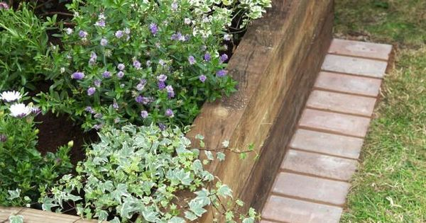Raised flower bed with brick pavers yardwork for dummies - How to plant a flower garden for dummies ...