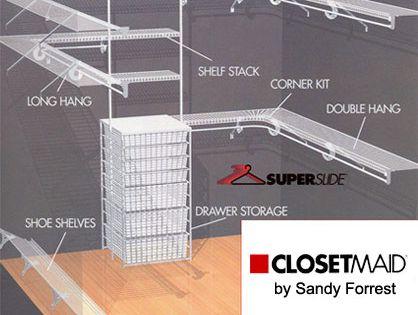 Closetmaid Of Western Kentucky Closets By Design Wire Closet