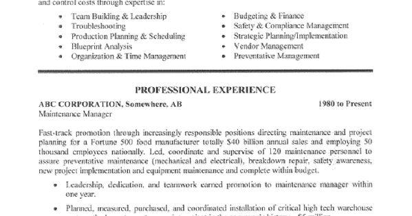 parts manager resume - Akbagreenw