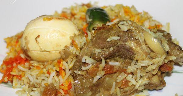 Nasi Beriani Kambing Pakistan Yang Memang Super Duper Sedap Ide Makanan Makanan Dan Minuman Resep Makanan