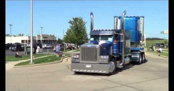 Custom Big Rig Truck Nice Pictures Youtube Custom Big Rigs