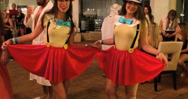 Pinocchio 39 s costume handmade disfraz pinocho cosas - Disfraces para gemelos ...