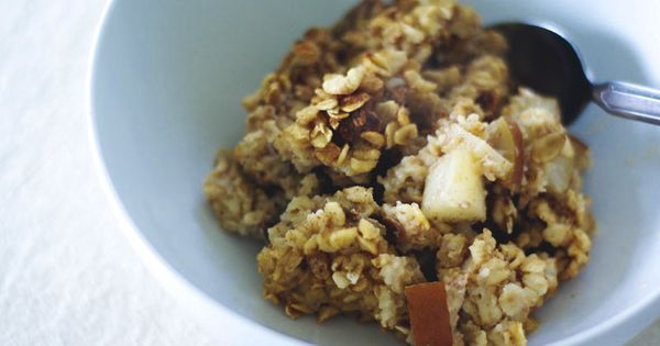 baked pear oatmeal and other yummy vegetarian recipes