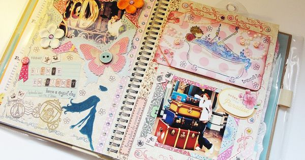 Como decorar un cuaderno por dentro imagui cosas - Como decorar un album de fotos ...