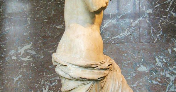 Aphrodite of Milos (Greek: Ἀφροδίτη τῆς Μήλου, Aphroditē ...