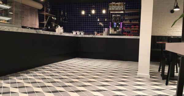 Restaurant tegelvloer zakelijke projecten kijk voor meer informatie op - Scheiding tegelvloer ...