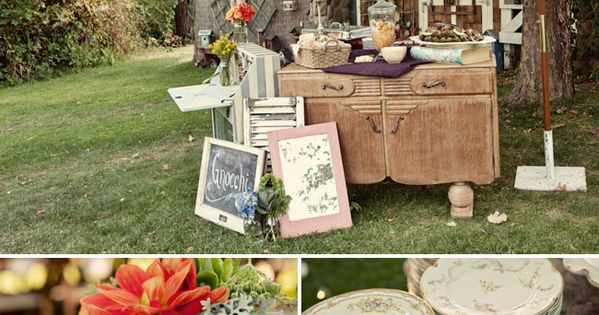 super cute wedding with pretty much everything i want... plus the guest