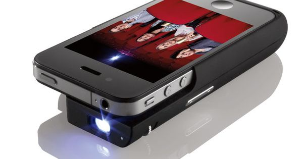 iPhone movie projector; watch movies on your wall. tech gadgets iphone movies