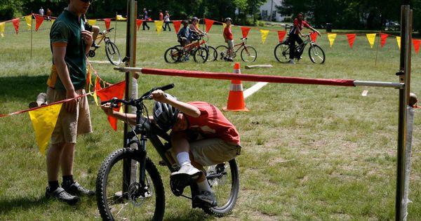 Kids Bike Skills Obstacle Course Google Search Bike