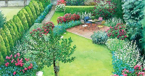 reihenhausgarten im neuen gewand reihenhausgarten g rten und gewand. Black Bedroom Furniture Sets. Home Design Ideas