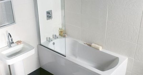 Homebase 359 Buttermere Straight Shower Bath 1500mm Bathroom Designs Pinterest Showers