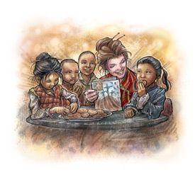 Great Story Of Lottie Moon Written For Small Children Moon