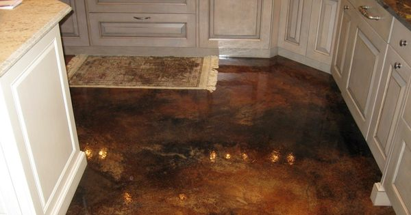 Interior concrete floors for the home pinterest for Stained concrete inside house