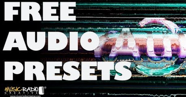 Free Adobe Audition Presets Music Radio Creative Blog Adobe