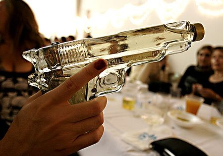 Package design. Tequila gun. design