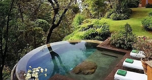 beautiful pools backyard | Ultimate Swimming Pools