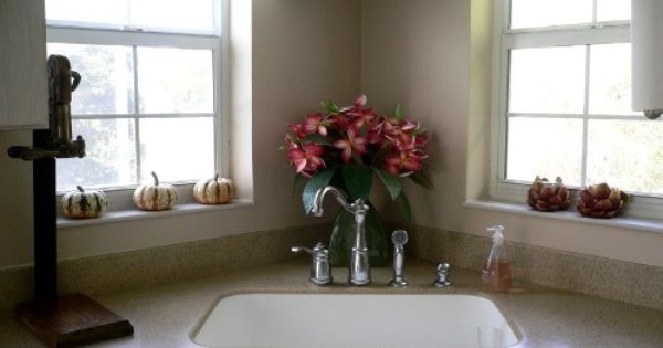 corner sinks kitchen corner kitchen sink ideas with potted plants corner 2618