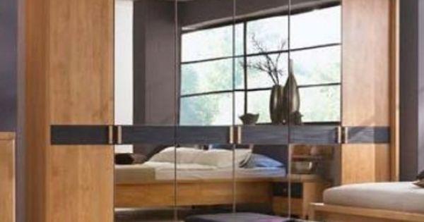 New Massivholz Kleiderschrank Erle massiv mocca Rhoda uac Schlafzimmer Pinterest
