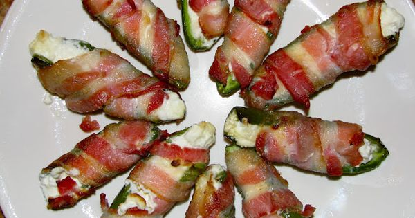 Jalapeno, Cream Cheese & Bacon Appetizers...they're magical | Recipe ...
