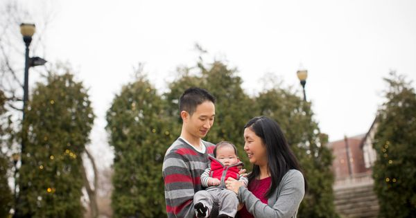 holiday card picture ideas for couples - The M Family Columbus Ohio State Winter Family Session