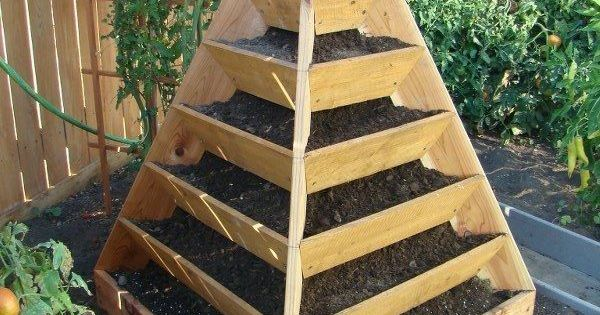 Garden pyramid planter -- how could I get somebody to make this