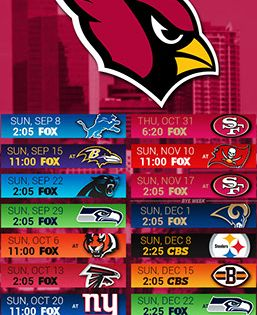 Arizona Cardinals 2019 Mobile City Nfl Schedule Wallpaper Arizona Cardinals Wallpaper Arizona Cardinals Arizona Cardinals Schedule