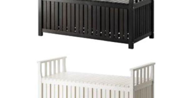 Banc Coffre Angso Ikea Banc Coffre En Pin Massif Lasure Noir Ou Blanc Chez Ikea Banc De Rangement Banc Coffre Ikea Banc