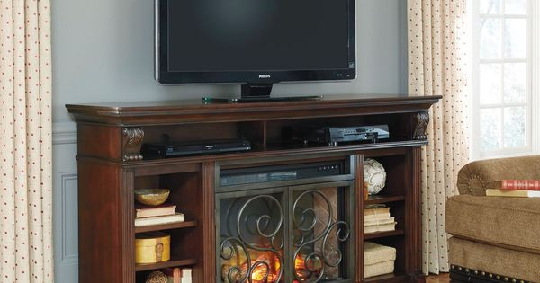 Alymere Extra Large Tv Stand With Fireplace Insert Attic Fireplaces Pinterest Large Tv