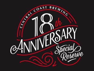 18th Anniversary 18th Anniversary Anniversary Logo Work Anniversary Cards