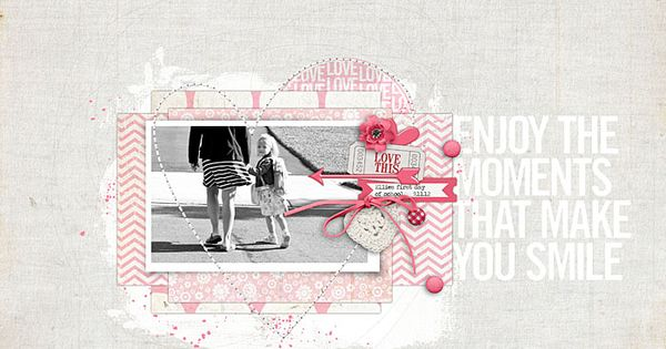 Makes Me Smile - Digital Scrapbooking Ideas - DesignerDigitals