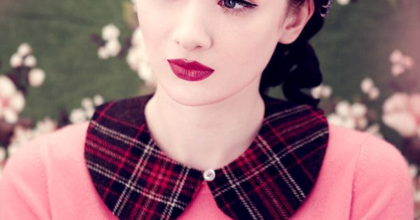 Vintage makeup + hair. I've had pinup makeup done on me once,
