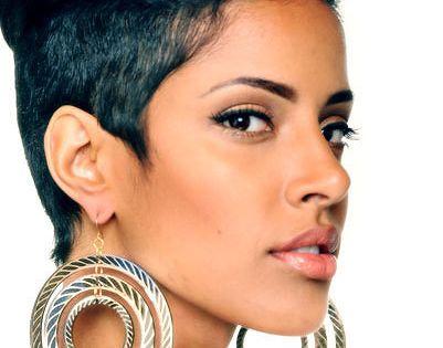 Best Short Hairstyles for Black Women Rihanna short hair - Black Hairstyles For Short Hair