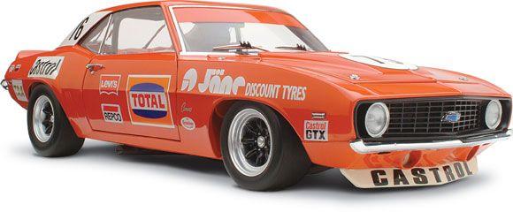 1 18 Scale Chevrolet Zl 1 Camaro Bob Jane 76 Atcc Winner Car Model Diecast Chevy Camaro