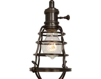home decorators collection 1 light aged bronze cage