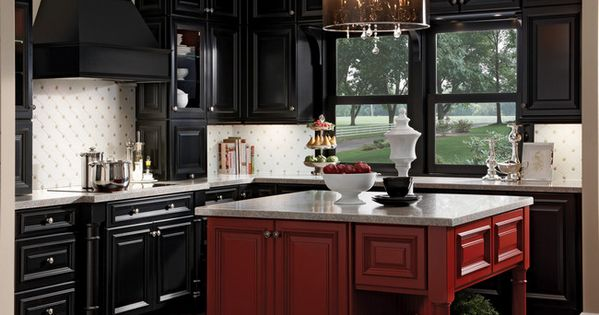 Kitchen Classically Traditional Photo 1 Kraftmaid Photo Gallery Home Decor Pinterest