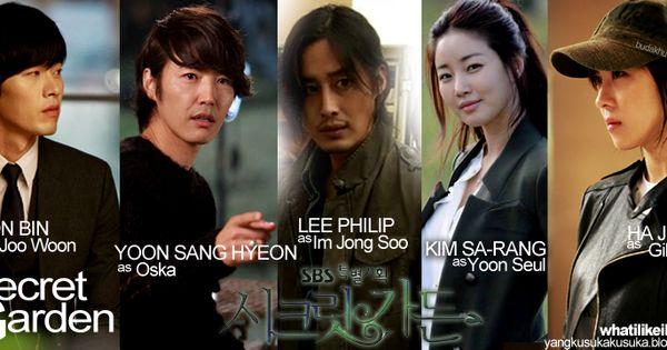 Secret garden korean drama cast members my fave kdrama actors actress pinterest secret for Secret garden korean drama cast