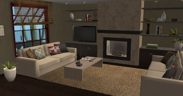 Modern Urban Loft Style Living Room Virtual Home D Cor