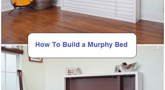 how to build a murphy bed a murphy bed is a great option for a basement area small space. Black Bedroom Furniture Sets. Home Design Ideas