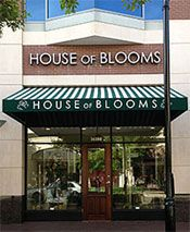 House Of Blooms Store Front In Sugar Land Thehouseofblooms Popupweddinghouston Weddingflowers Weddings Houston Cottonbouquet With Images Popup Wedding Send Flowers