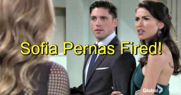 The Young And The Restless Y R Spoilers Sofia Pernas Fired As