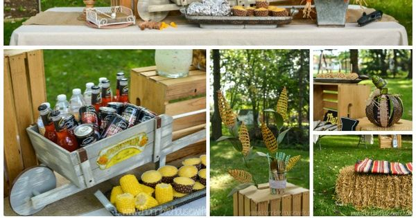 fall harvest party ideas for adults fall harvest fall harvest party and mike d 39 antoni. Black Bedroom Furniture Sets. Home Design Ideas