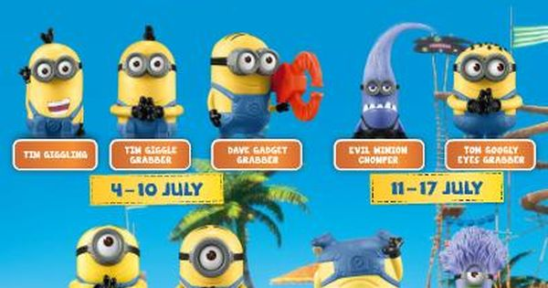 Despicable Me 2 Toys Mcdonald S Malaysia Despicable Me 2 Monion Collection Lobanghub Happy Birthday Minions Minion Toy Minions Funny Images