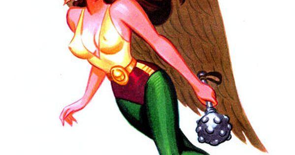 Hawkgirl by Bruce Timm...