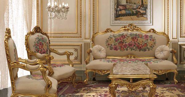 صالون ذهبي Kanfa Egyptian Furniture Living Room Decor Curtains Dressing Room Decor