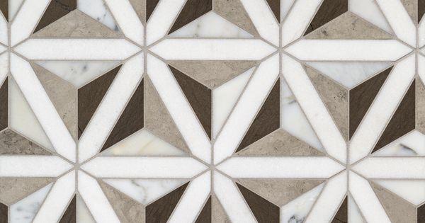 artistic tile duomo grey waterjet mosaic motifs pinterest materiaux et d co. Black Bedroom Furniture Sets. Home Design Ideas