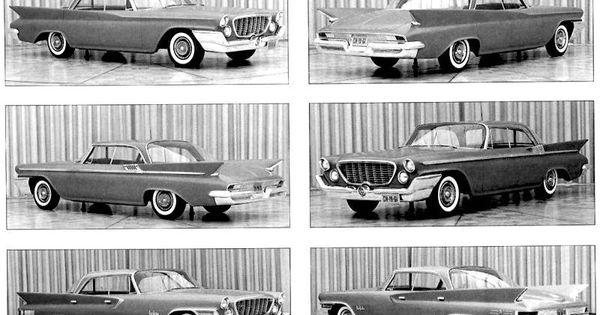 Parked Cars Revisited 1966 Chrysler Newport 4 Door: 1961_chrysler_clay_models.jpg
