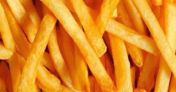 Fried potatoes, French fries and A thing on Pinterest